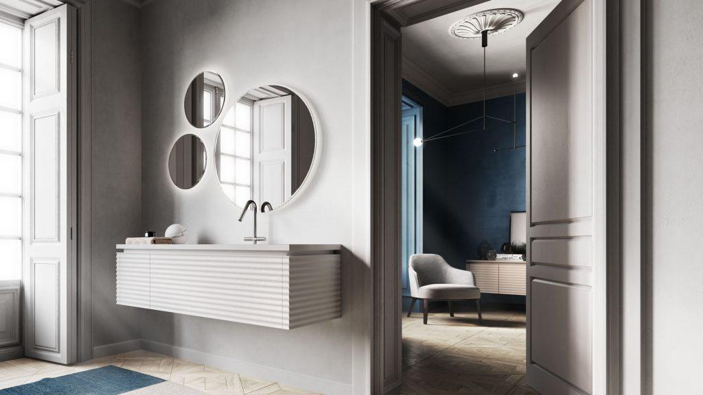Dolcevita mobili bagno per un bagno moderno e sofisticato ideagroup