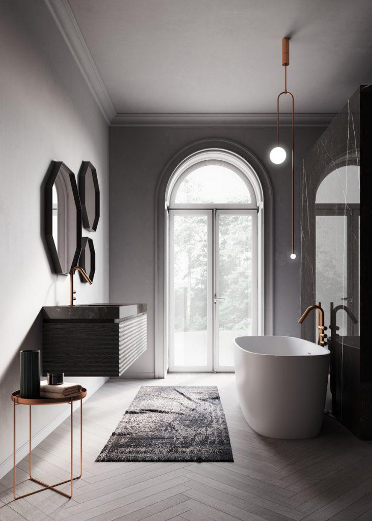 Dolcevita mobili bagno per un bagno moderno e sofisticato for Bagni di design