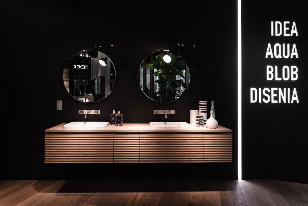 A ISH il decor firma scenografie originali per l'ambiente bagno