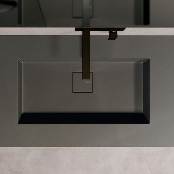 Piano Duplex in Fenix con lavabo integrato