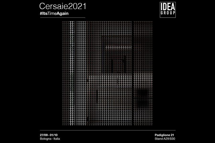 #ItsTimeAgain: Ideagroup a Cersaie 2021